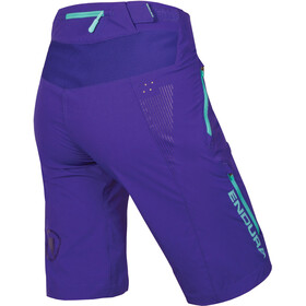 Endura SingleTrack Lite II Pantalones cortos Mujer, cobaltblue